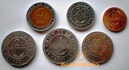 Bolivian coins