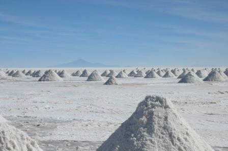 Salar de Uyuni Bolivia Salt Flats