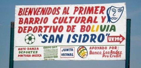 Volunteer with San Isidro in Santa Cruz