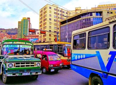 La Paz Urban Setting