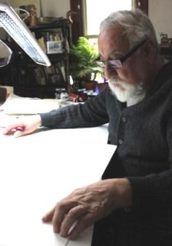 Bolivian American Artist Domingo Parada