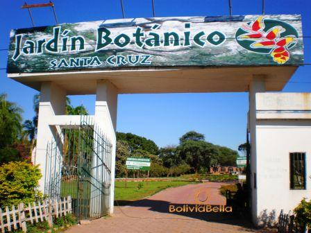 the botanical garden or jardin botanico of santa cruz de