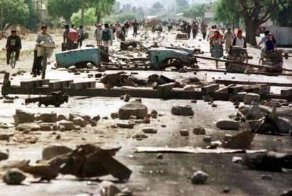 bolivia economy protests roadblocks