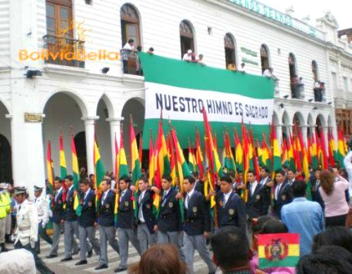 Bolivian Independence Day August 6th