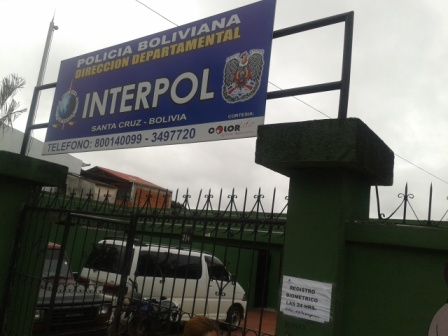 Interpol Office in Santa Cruz, Bolivia