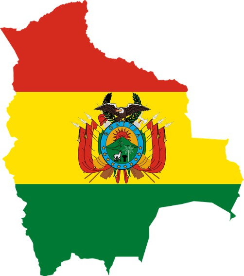 Bolivian National Emblems - Flag - Coat of Arms