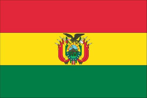 Bolivia's national flag