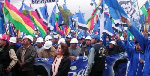 Protests are common in Bolivia