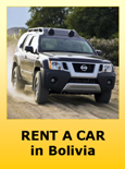 Rent a Car Hire in Bolivia