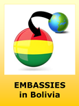 Foreign Embassies and Consulates in Bolivia