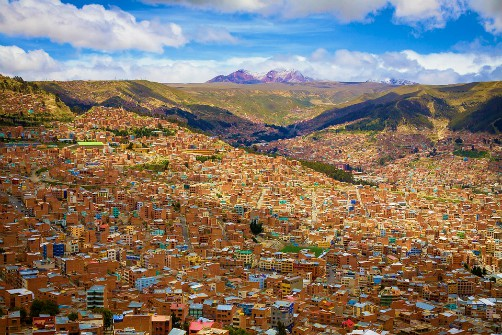 Hostels and hotels in La Paz, Bolivia