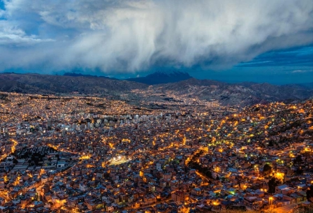 Bolivia Facts: La Paz Bolivia is one of the highest cities in the world.