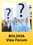 Bolivia Travel Visa Requirements Forum