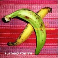 bolivian food fruit platano postre platano de freir plantain