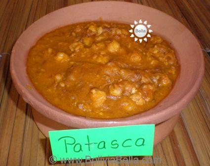 Bolivian Food and Recipes - Patasca