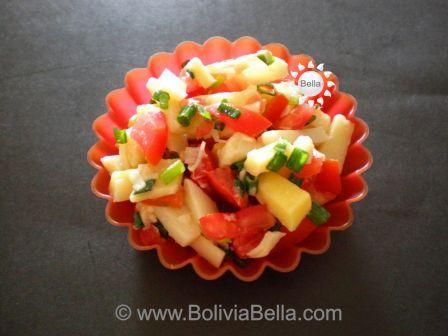 Ensalada de Palmito - Palm Heart Salad