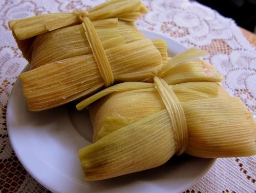 Bolivia food recipes snacks humintas yellow aji