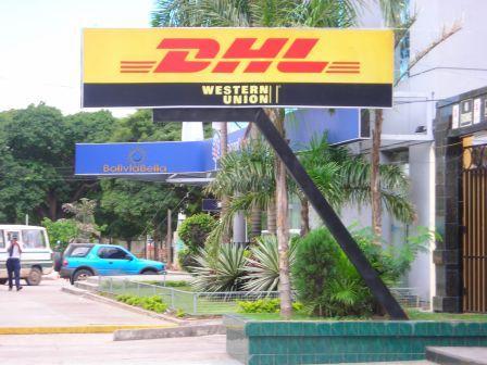 Bolivia Santa Cruz Couriers DHL