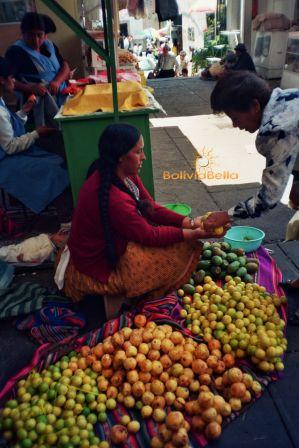 Bolivia outdoor markets bartering shopping
