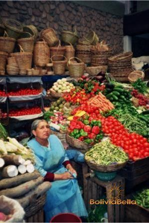 Outdoor Markets in Bolivia