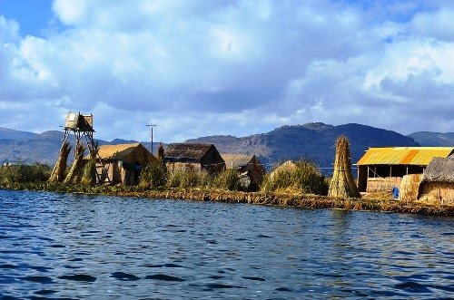 Uru Uru Floating Villages Lake Titicaca Bolivia