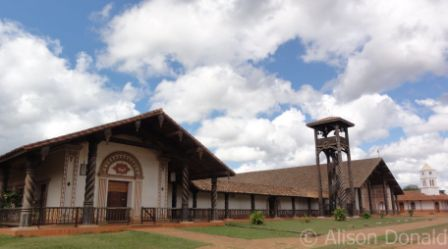 Concepcion Church Jesuit Missions of Bolivia