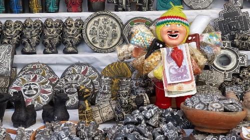 Alasitas Festival of Abundance Bolivia