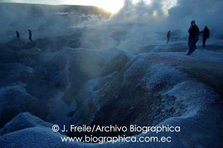 Sol de Mañana Potosi Bolivia Fumaroles