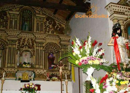 bolivia tourism sites porongo church