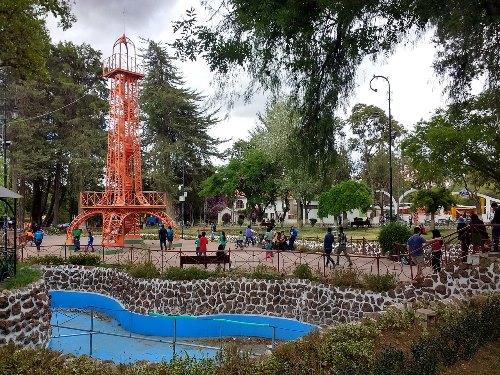 Parque Simon Bolivar, Sucre Bolivia