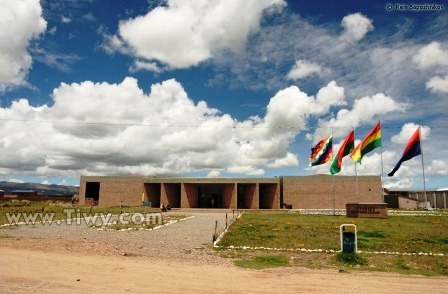 Visit the ancient ruins of Tiwanaku
