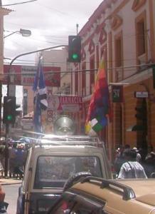bolivia political parties customs