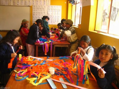Creative Corners Global Arts Project Bolivia