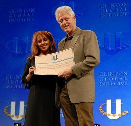 Awarded by the Clinton Global Initiative