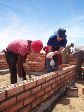 Volunteer with ICYE Bolivia