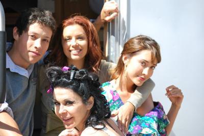 Reynaldo Pacheco and Eva Longoria, Fernanda Romero, Maria Conchita Alonzo