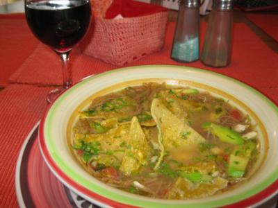 Aztec Soup - La Luna Verde Specialty