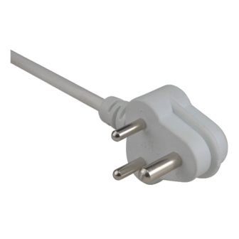 3-pin plug (220V) Some 110V plugs also have 3 pins