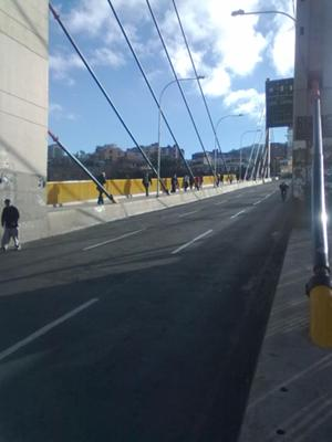 Americas Bridge no traffic
