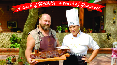 A touch of Hillbilly, A touch of Gourmet