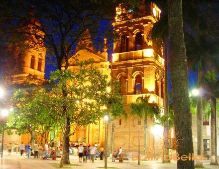 Basilica de San Lorenzo, our main cathedral on Plaza 24 de Septiembre