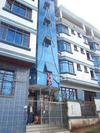 A picture from the from of the affordable and really comfortable ArcAngel Hotel