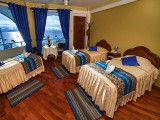 Hotel Lago Azul, Copacabana, Lake Titicaca, Bolivia