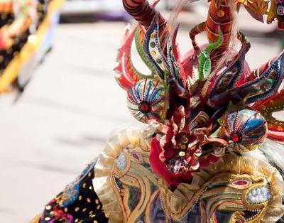 Diablada Dancer