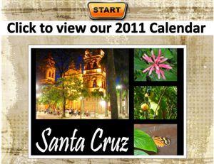 2011 Santa Cruz Calendar!