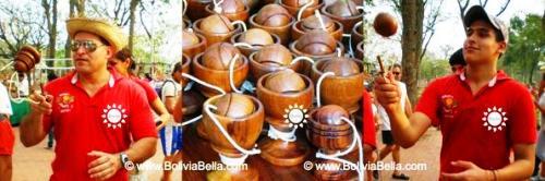 Bolivian games: enchoque