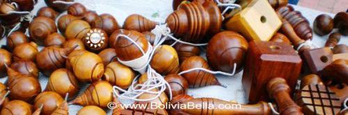 Bolivian games: trompo