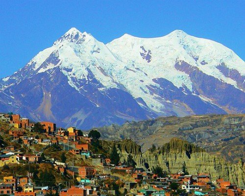Bolivian Myths and Legends - Illimani