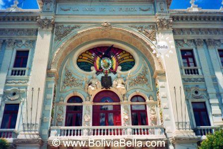 La historia de Sucre, Chuquisaca, Bolivia