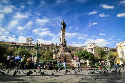 La Paz, Bolivia - Plaza Murillo